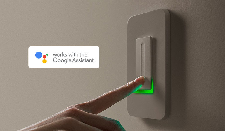 smart switch with Google Assist